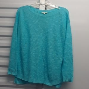 EILEEN FISHER casual linen top sz. XXS